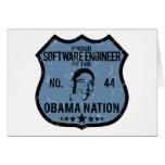 Nación de Obama de la Software Engineer Felicitación