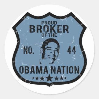 Nación de Obama del agente Etiquetas