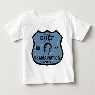 Nación de Obama del cocinero Playeras