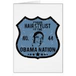 Nación de Obama del estilista Felicitación