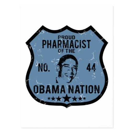 Nación de Obama del farmacéutico Postal