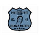 Nación de Obama del fotógrafo Postal