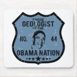 Nación de Obama del geólogo Alfombrillas De Ratones
