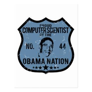Nación de Obama del informático Tarjeta Postal