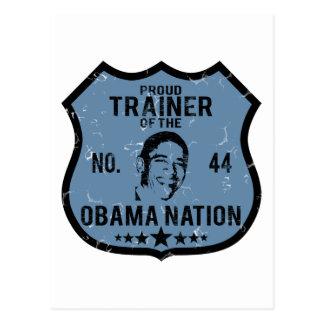 Nación de Obama del instructor Postales