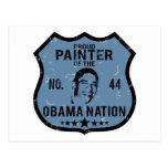 Nación de Obama del pintor Tarjeta Postal