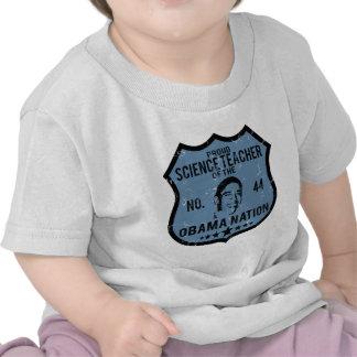 Nación de Obama del profesor de ciencias Camisetas