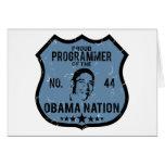 Nación de Obama del programador Felicitación