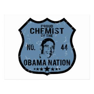 Nación de Obama del químico Postal