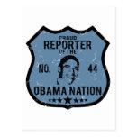 Nación de Obama del reportero Postales