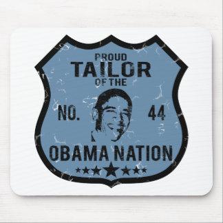 Nación de Obama del sastre Tapetes De Ratones