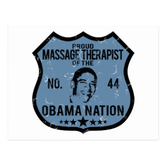 Nación de Obama del terapeuta del masaje Postales