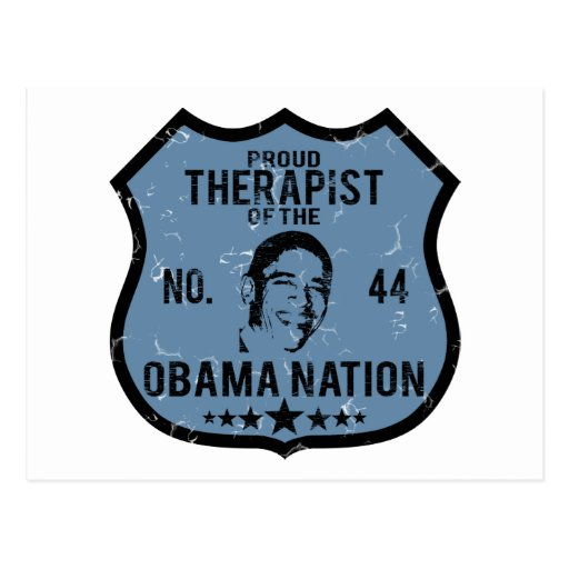 Nación de Obama del terapeuta Postal