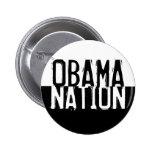 Nación de Obama Pins