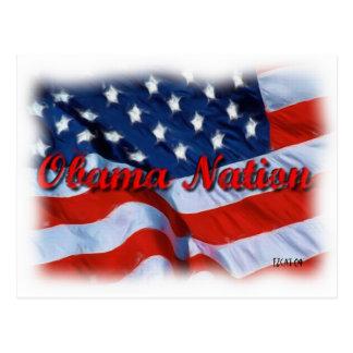 Nación de Obama Postales
