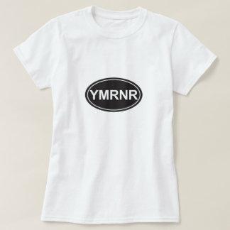 Nación de Weimaraner: Estilo del euro de YMRNR Playera