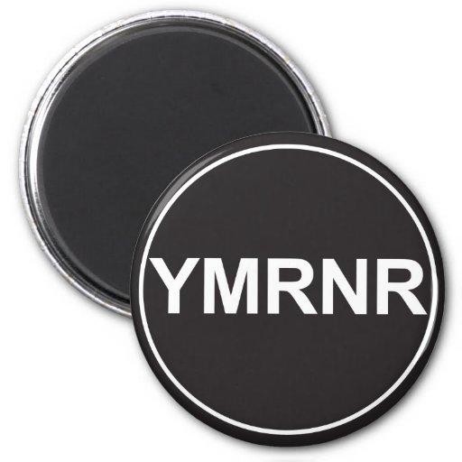 Nación de Weimaraner: Gráfico de YMRNR Imán Redondo 5 Cm