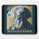 Nación de Wewimaraner: Weimaraner 1943 Alfombrillas De Ratón