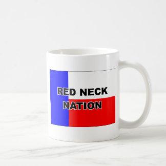 Nación del campesino sureño taza de café