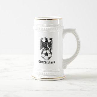 Nación del fútbol de Alemania Jarra De Cerveza