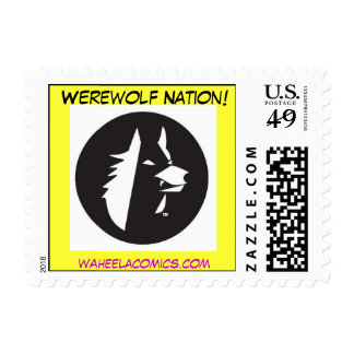 Nación del hombre lobo sellos