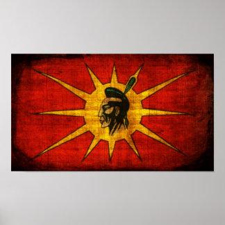 Nación del Mohawk Posters