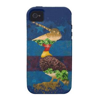Nación del pelícano vibe iPhone 4 carcasa