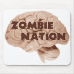 Nación del zombi tapetes de ratón