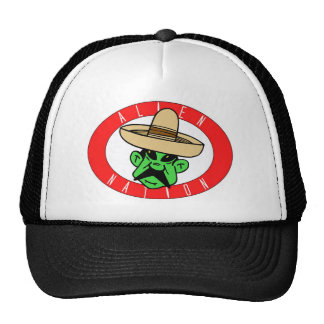Nación extranjera gorras de camionero