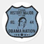 Nación importante de Obama de la historia Pegatina