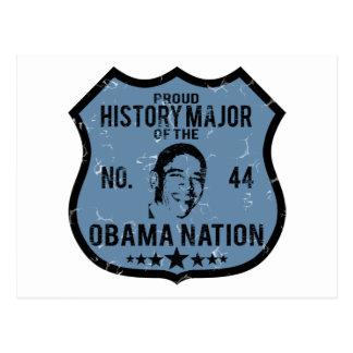 Nación importante de Obama de la historia Postal