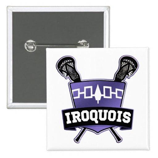 Nación Iroquois LaCrosse Pins