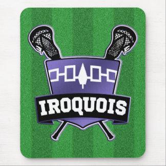 Nación Iroquois LaCrosse Tapete De Ratones