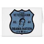 Nación veterinaria de Obama Tarjeta