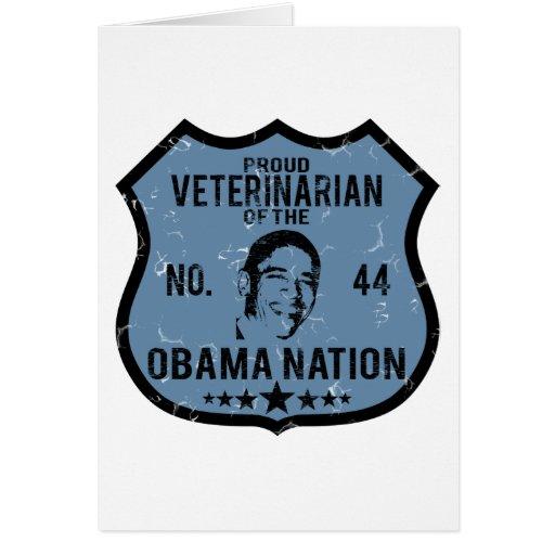Nación veterinaria de Obama Tarjetón