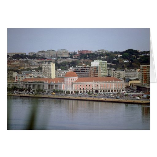 Nacional banco de Angola, Luanda, Angola Tarjetón