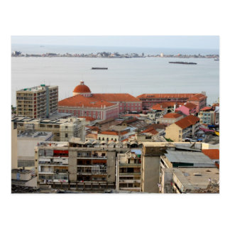 Nacional banco de Angola Tarjeta Postal