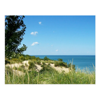 Nacional de las dunas de Indiana a orillas del Postal