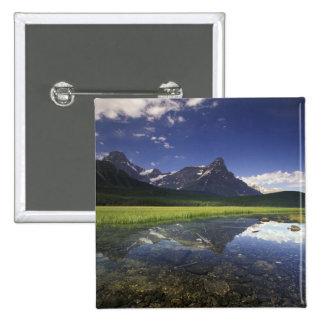 Nacional de Norteamérica, Canadá, Alberta, Banff Pin Cuadrada 5 Cm