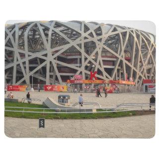 Nacional el estadio Olímpico de Pekín Cuaderno Grapado