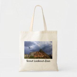 Nacional Parque-Utah de Zion del puesto de Bolsas