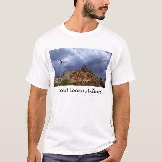 Nacional Parque-Utah de Zion del puesto de Playera