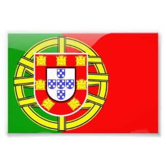 Nacionalidad colorida del país de la bandera fresc impresiones fotograficas