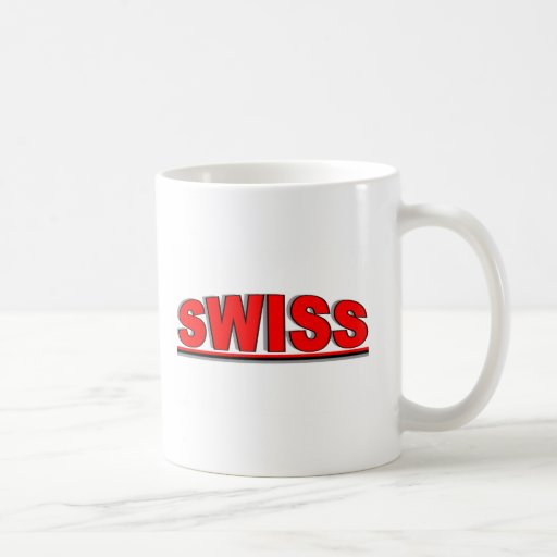 """Nacionalidades - """"suizos """" taza de café"""