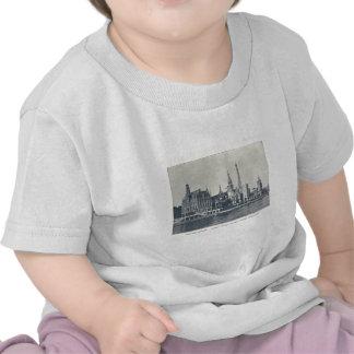 Naciones del DES de la ruda, río Eine, expo 1900 d Camiseta