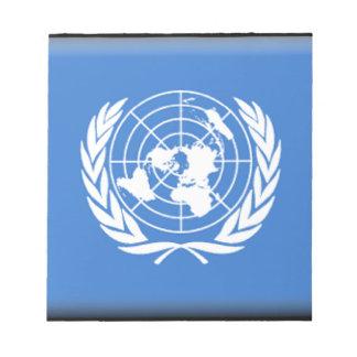 Naciones Unidas Blocs De Papel