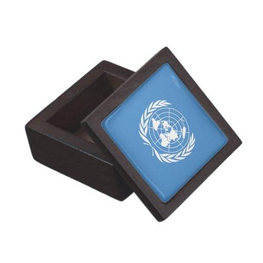 Naciones Unidas Caja De Recuerdo De Calidad