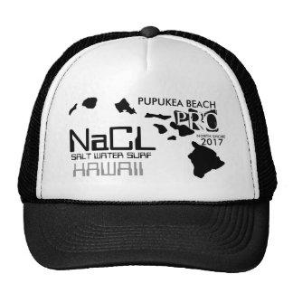 NaCL SALT WATER SURF PUPUKEA BEACH Trucker Hat