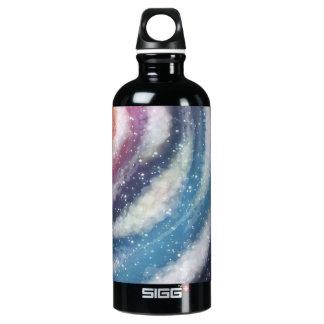 Nacreous Clouds Aluminum Water Bottle