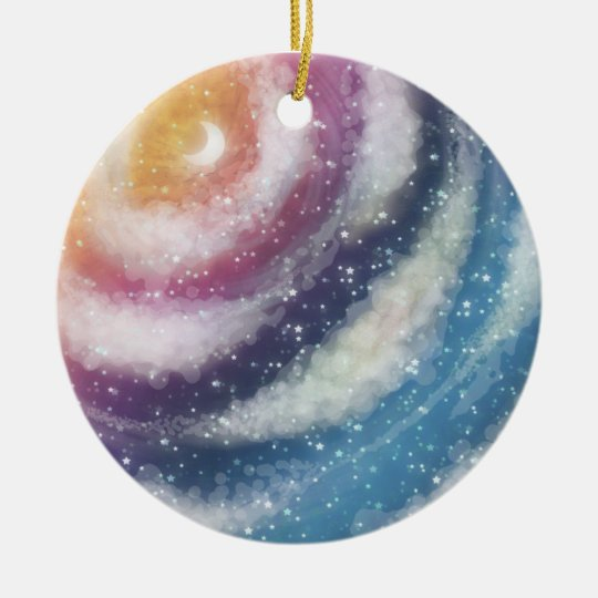 Nacreous Clouds Ornament